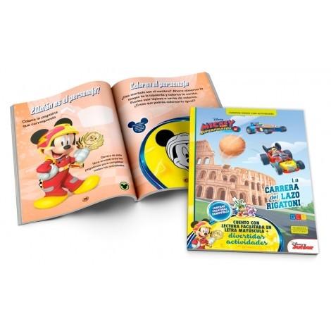La carrera del Lazo Rigatoni · Cuento Disney con actividades · Libro