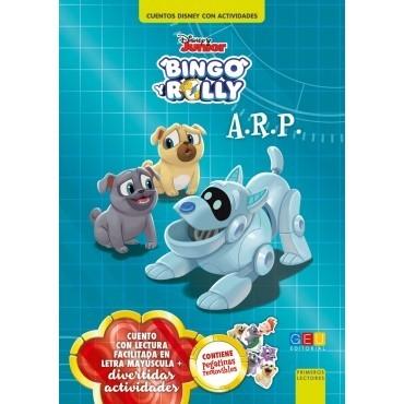Bingo y Rolly. A.R.P. · Cuentos Disney con actividades
