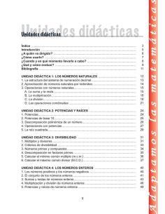 Matemáticas 1-2- Educación Secundaria. Adaptación curricular. Libro del alumno