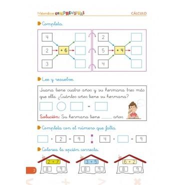 Pack 1º Matemáticas (Cálculo) + Organizador semanal de regalo