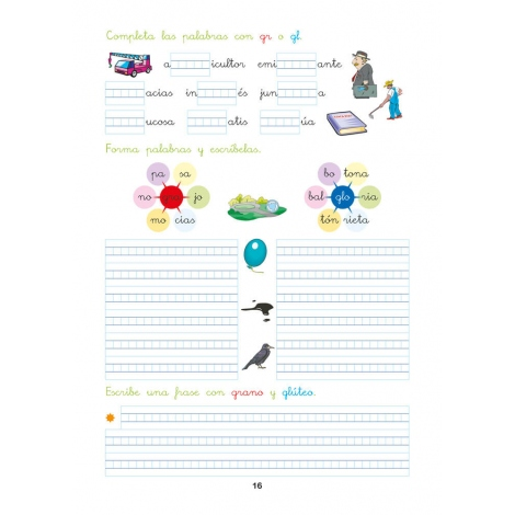Pack 1º Ortografía + Organizador semanal de regalo