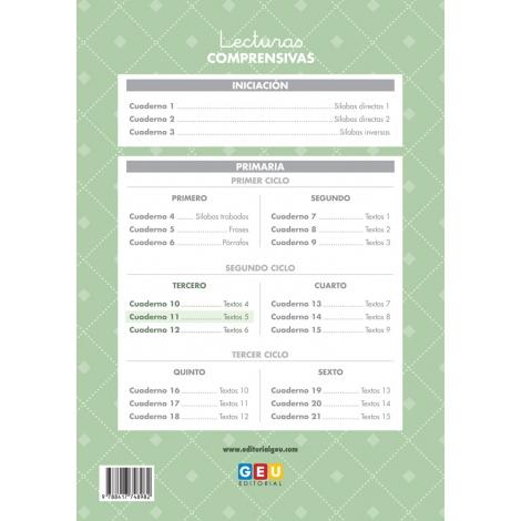 Pack 3º Lecturas + Organizador semanal de regalo
