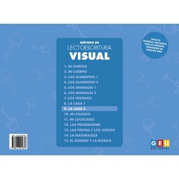 Método de lectoescritura visual 9: La casa 2