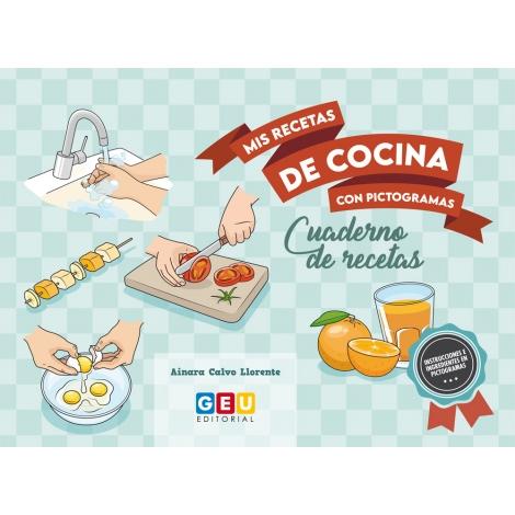 Mis recetas de cocina con pictogramas