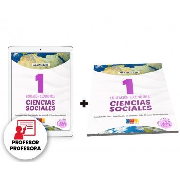 Digital docente - Ciencias sociales: Geografía e historia 1. Educación Secundaria. Libro de aula