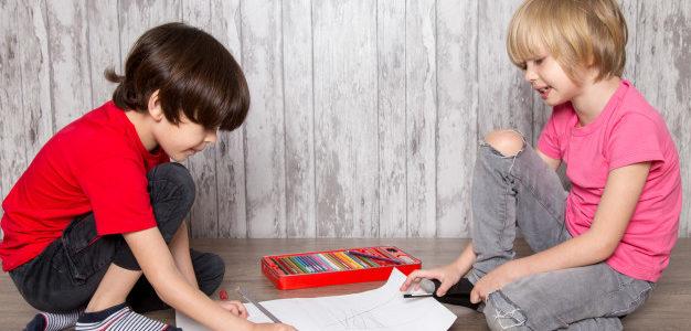 caligrafía en niños hiperactivos