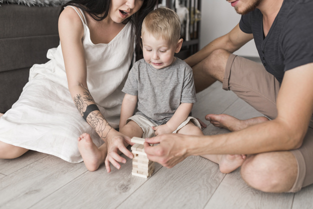 juegos y ejercicios para hacer en casa con niños
