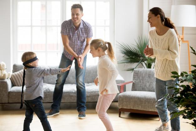 juegos para entretener a los niños en casa