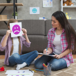trabajar con pictogramas y niños con TEA
